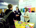 GAAPS Actuarial careers fair at Heriot Watt - Hymans Robertson
